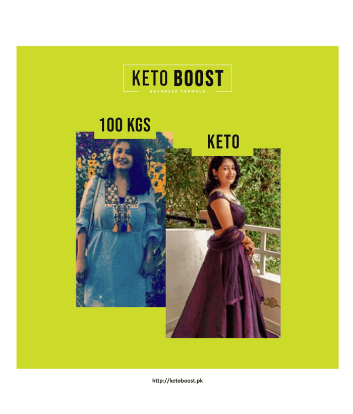 Keto Boost - Before and After Results Pakistan 2