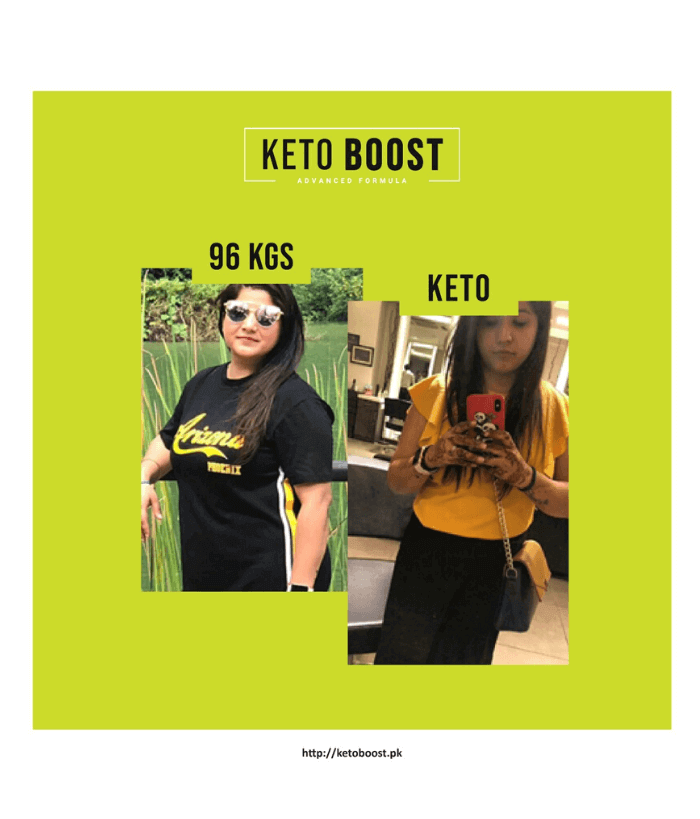 Keto Boost - Before and After Results Pakistan 3